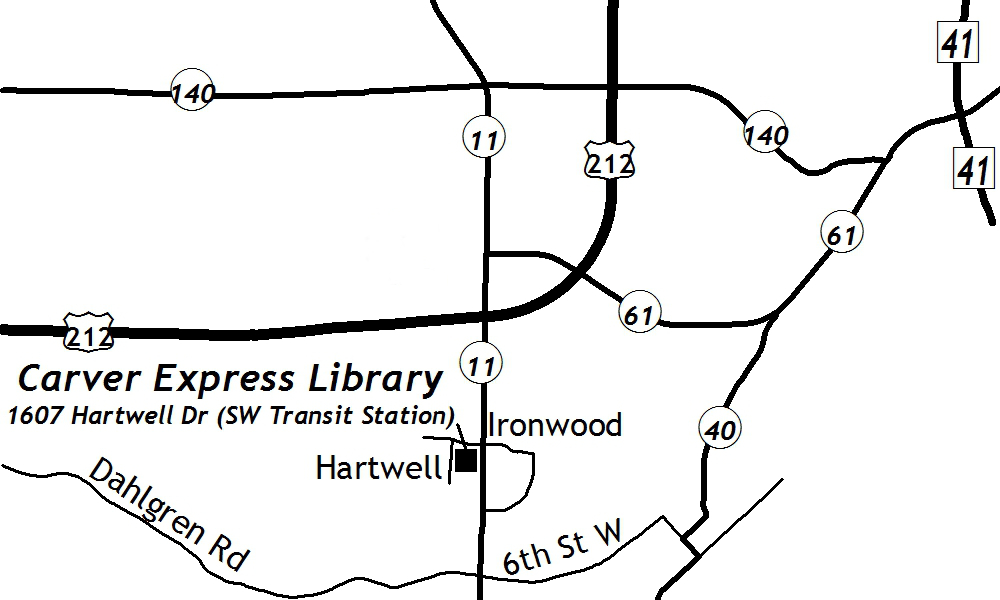 Carver express carver county library carver express station sciox Image collections